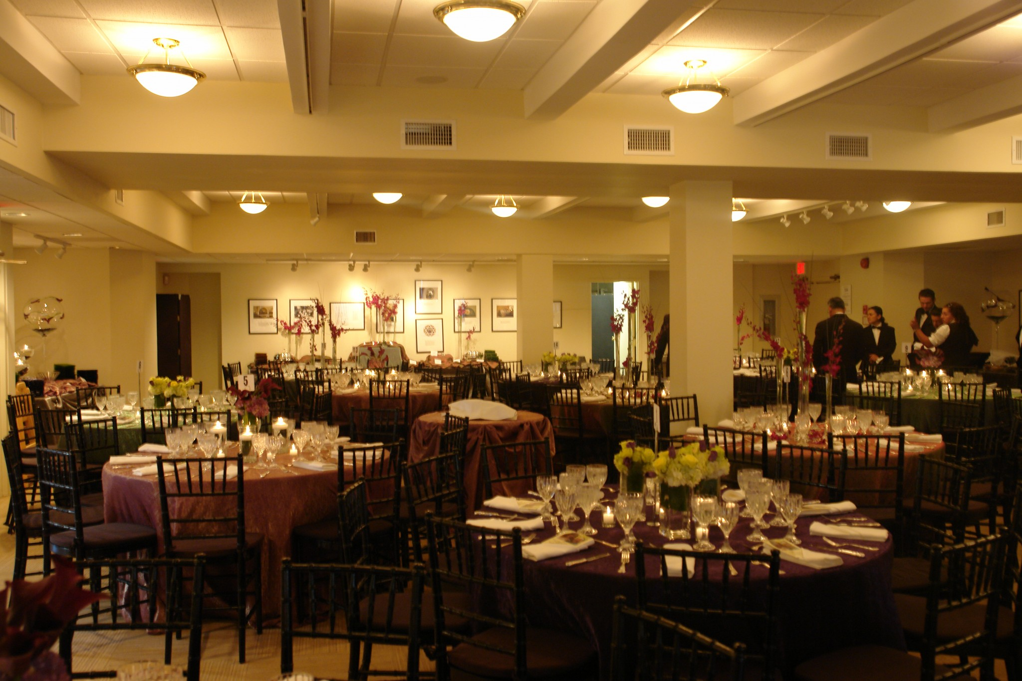 social hall setup fancy tables and chairs sixth i